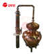 50L 100L dye steam alcohol distillation equipment