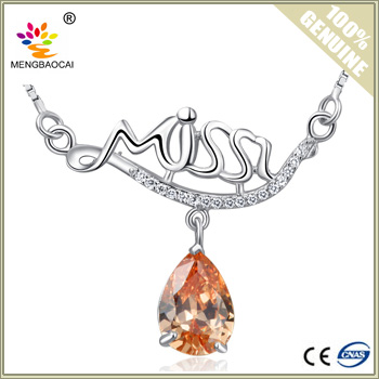 White gold mangalsutra latest designs 925 silver silver necklace gemstone jewelry