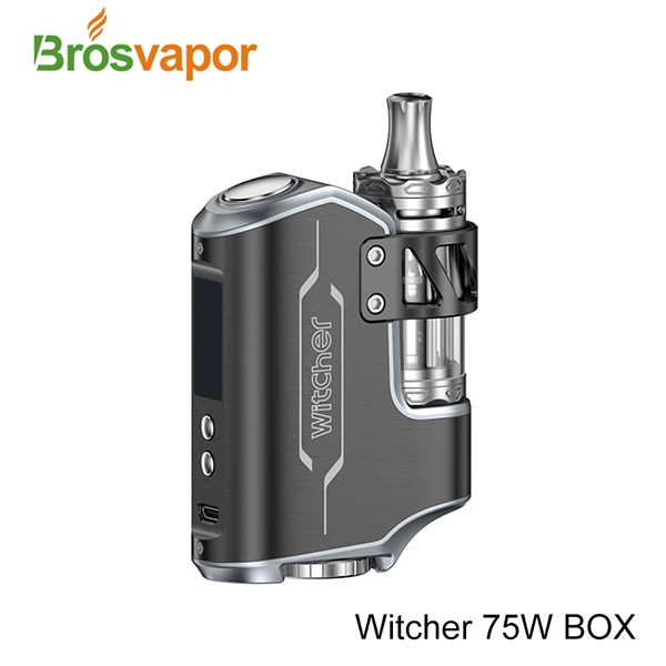 Original Rofvape Witcher 75W Kit Handheld Feeling TC Starter Kit with 5.5ml Top Refilling Tank