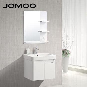 JOMOO Wall Mounted Bath Vanity Colorful Solid Wood Cabinet Bathroom Vanities