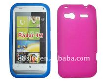 Cell Phone Silicon Skin Back Cover For HTC Radar 4G