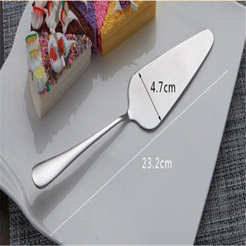 2017 High quality food grade stainless steel cake server, cake knife