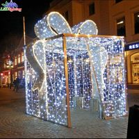OBBO china 3d motif light christmas decoration gift box led light
