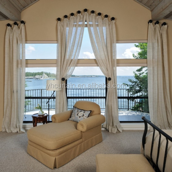 Beautiful White Sheer Outdoor Balcony Curtains In Cheap Price Buy