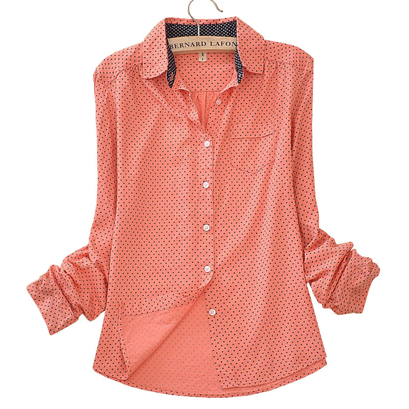 db744ab4a29 Buy Long Sleeve Cotton Camisas Blusas Femininas Women Blouses Shirt Ladies  Clothes Female Clothing Work Wear Vintage Body 2015 Tops in Cheap Price on  ...