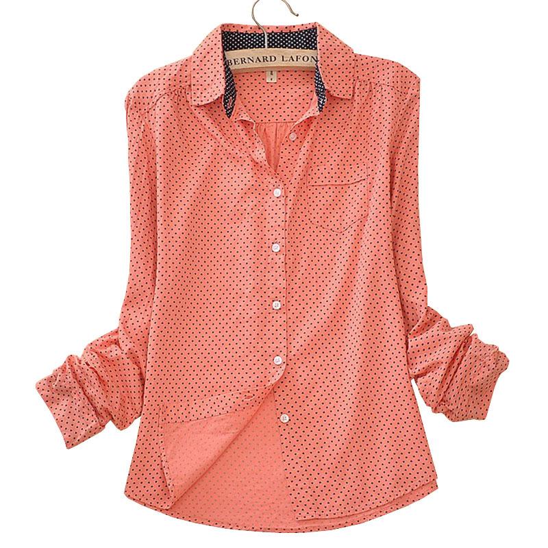 d3d4d3ea898 Get Quotations · Long Sleeve Cotton Camisas Blusas Femininas Women Blouses  Shirt Ladies Clothes Female Clothing Work Wear Vintage