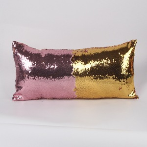 New arrival long 2 colors sequins fashion home decorative sofa seat picasso cushion cover