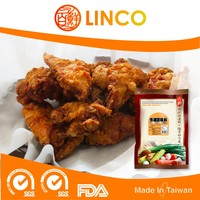 HACCP & ISO22000 Tasty Taiwan Best Crispy Fried Chicken Breading