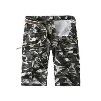 1638c8e536 Mens Zip Fly Flap Pockets Camo Cargo Shorts - Buy Mens Cargo ...
