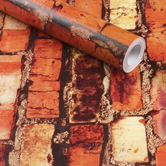 Removable 3d brick wallpaper remnants for sale buy for Wallpaper remnants