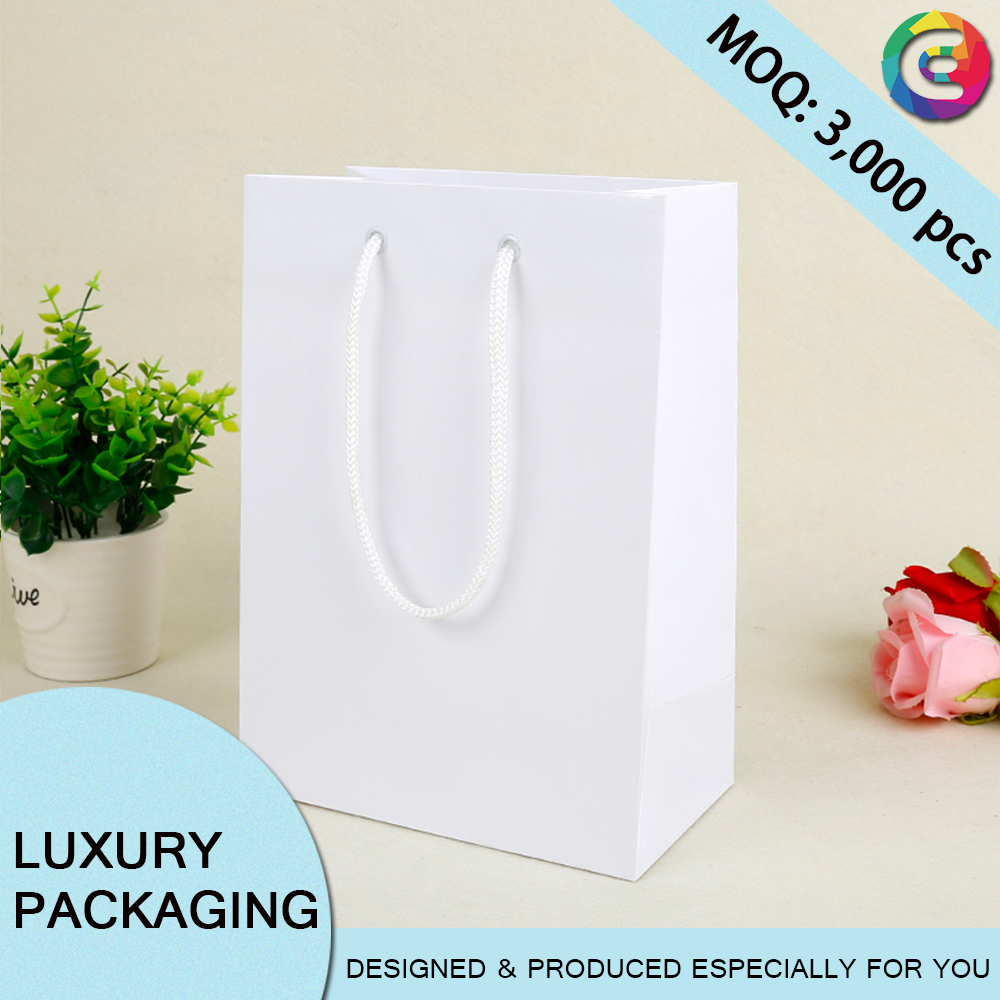 Personalised custom tissue paper wine gift bag template