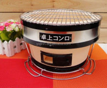 Indoor bbq table top charcoal bbq grill China ceramic bbq japanese grill