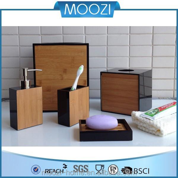 gro handel gemalt bad accessoires bambus und holz. Black Bedroom Furniture Sets. Home Design Ideas