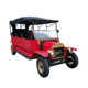 Passenger exalted retro car electric vehicle for tourism
