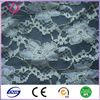 Spray gold lace fabric with floral pattern print for elegant garment