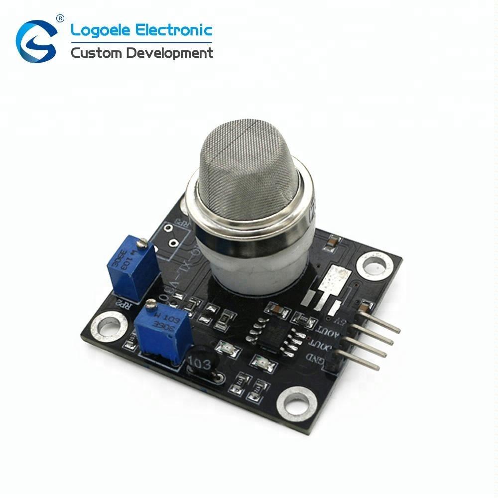 Chine personnalisé prix 1 à 500ppm Analogique TTL interrupteur détecteur de sortie 5V DC module dioxyde de soufre so2 capteur de gaz
