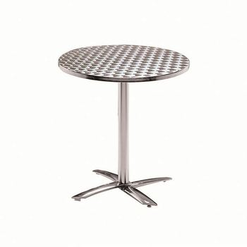 Outdoor Table 8 Feet Hot Sale Plastic Round For Garden Pool Beach Furniture Aluminum Foldable