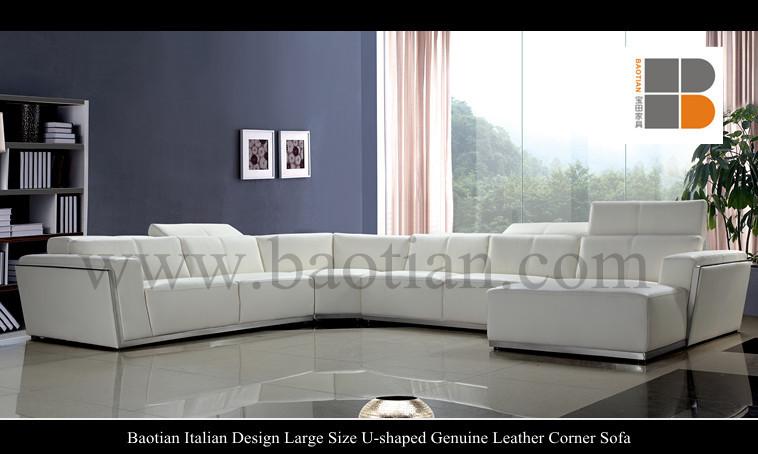 Baotian Design Italiano Di Grandi Dimensioni U- A Forma Di Genuino ...
