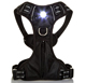 USB Rechargeable Illuminated LED Soft Mesh Padded Adjustable dog harness hardware for Large Medium Small Dogs