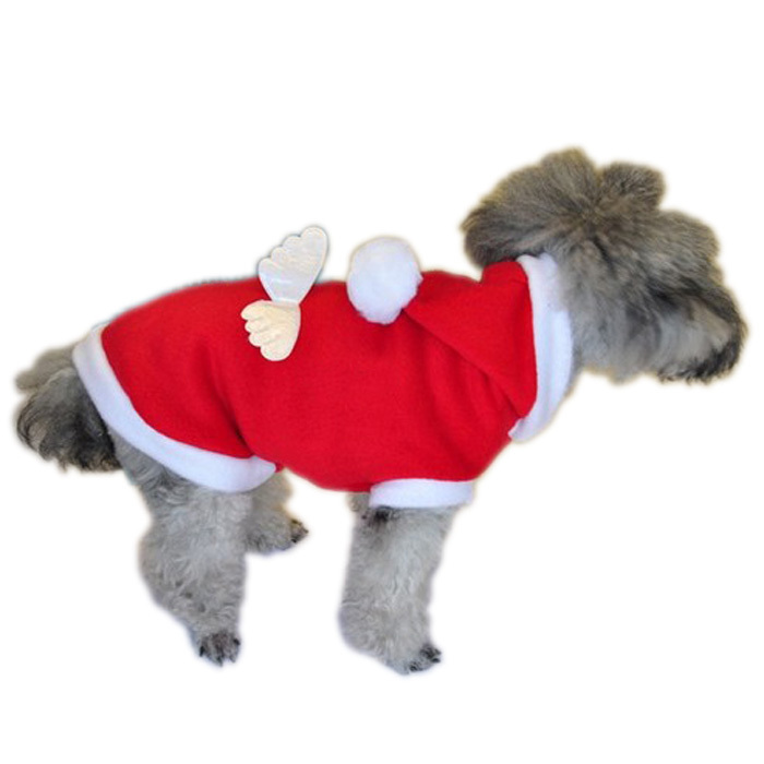 Hot Sale Pet Fleece Hoodie soft Dog Christmas Coats