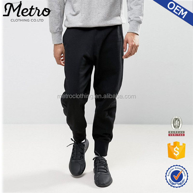 2017 OEM Manufacturer available Fashion Sweatpants for Men French Terry design