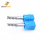 45 Degree Chamfer 3 Flute Solid Carbide Aluminum End Mill