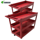 Hight quality food Service Cart / 3 tier tea trolley with stainless steel
