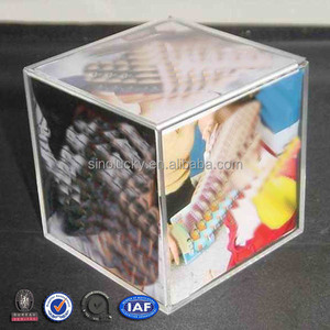 Acrylic Cube Sixy Picture Photo Frame