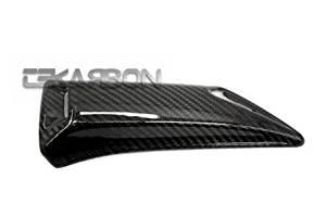 2012 - 2015 Yamaha Tmax 530 Carbon Fiber Upper Exhaust Heat Shield