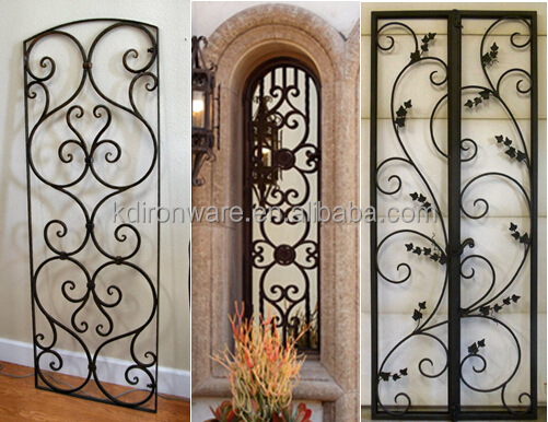 Hebei Manufacturer Decorative Simple Wrought Iron Window