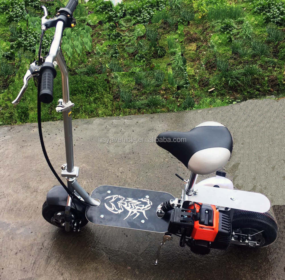 Hot Sale 49cc Gasoline Folding Scooter with Flywheel