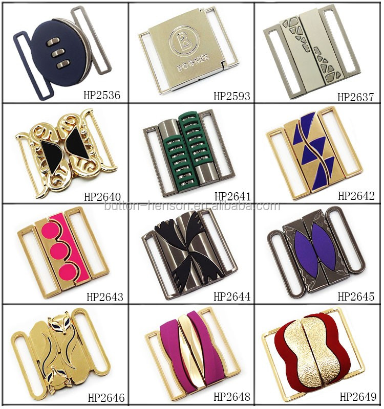 Custom rhinestone rectangle butterfly knot shape 25mm 1 inch accessories gold plated decorative leather shoe belt buckles