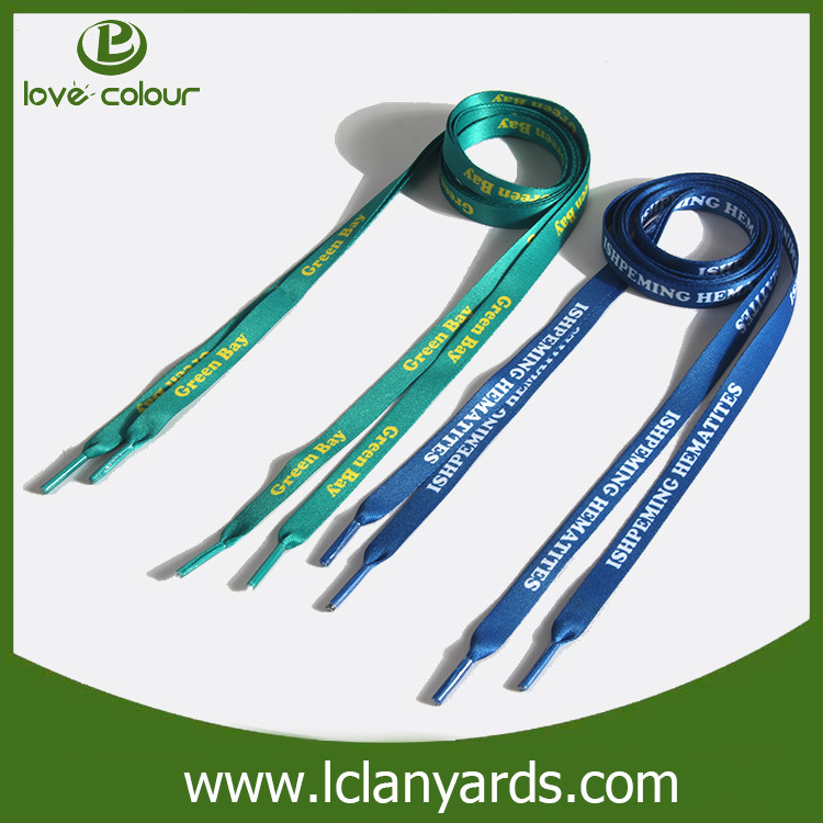 Made In China Polyester Printing Shoelace Suppliers