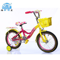 2017 Latest Hot selling 4 wheels Kid Bikes/Boys Girls Kids Bikes with good price/Cheaper cross Kid Bike for 3 years