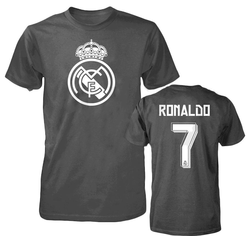 232c4ec6b Buy Smart Zone FC Real Madrid Shirt Cristiano Ronaldo Mens T- Shirt ...