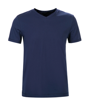 73df2ada570 custom summer blank navy blue mens basic plain t-shirts 100% cotton v neck