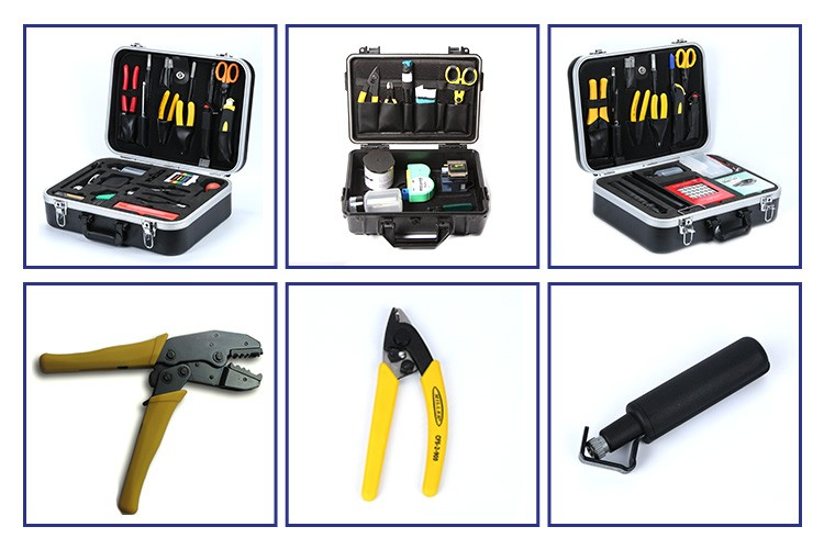 Fiber installation FK-2600 optical fiber tool kits all in one