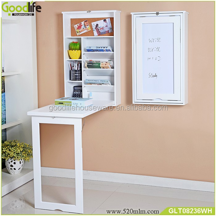 Kids Wall Mount Folding Wooden Study Table Designs Buy