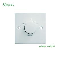 CTRLPA public address system in wall speaker volume control switch 30w 60w 120w