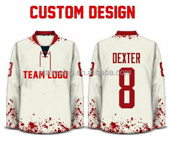 custom hockey jersey designer
