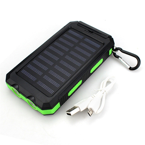 High Capacity Charger 16000mAh Waterproof Solar Power Bank Mobile Powerbank Compass solar energy power banks for mobile phone