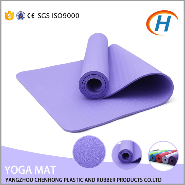 Factory Offer Cheap Price High Quality TPE Round Yoga Mat