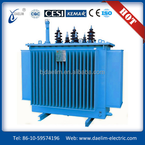 oil type 200kva 11kv 400v step down distribution transformer