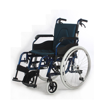 JRSPEC certificated hospitial lightweight aluminum manual wheelchair