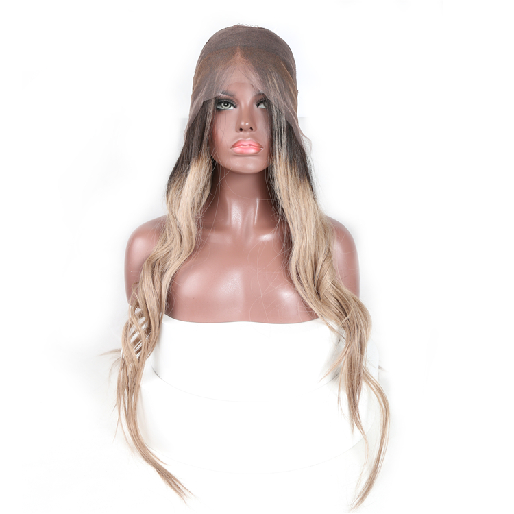 2018 fashion style long human hair custom made wigs for african americans
