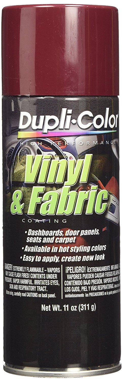 Dupli-Color HVP110 Burgundy High Performance Vinyl and Fabric Spray - 11 oz.