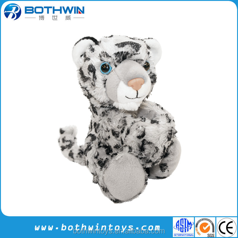 Custom Small Size Cute Snow Leopard Stuffed Animals Buy Snow