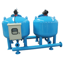 Multimedia and Activated Carbon FIlters For Waste Water Treatment