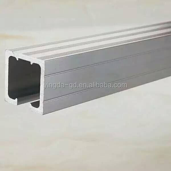 Factory High quality Sliding door track / hanging sliding door rail for cabinet