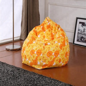 polyester fabric puff giant bean bag